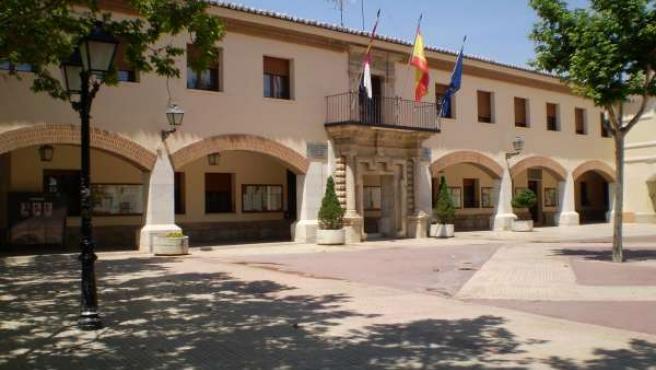 Ayuntamiento Villacañas fachada