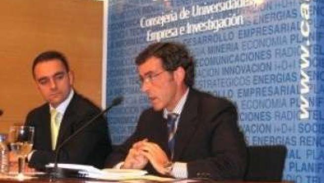 Antonio Sánchez Solís, a la derecha (archivo)