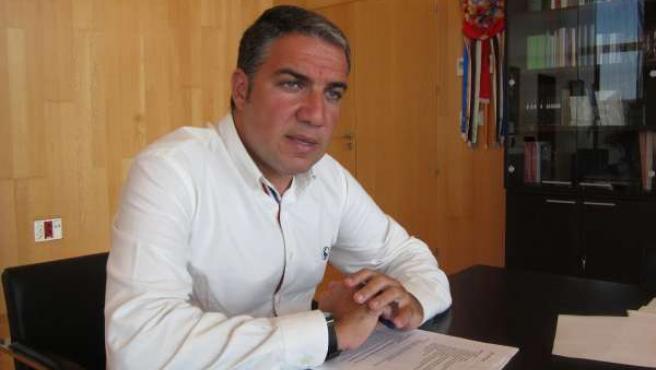 El presidente de la Diputación de Málaga y del PP, Elías Bendodo