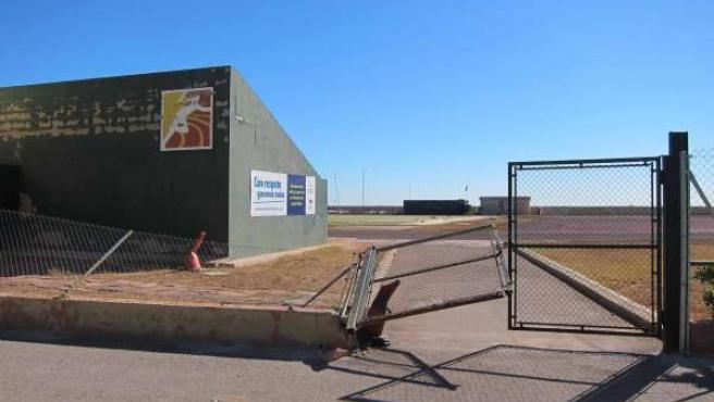 Instalaciones del Polideportivo de El Saler (Valencia)