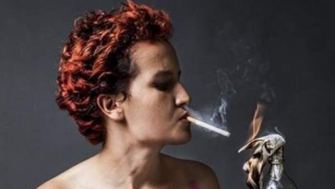 Amina Sbui, ex-activista de FEMEN.