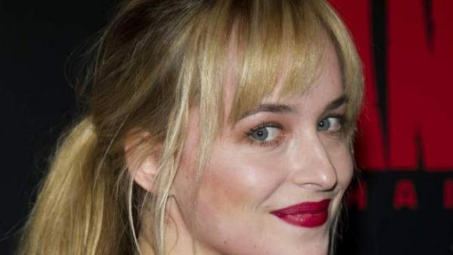 La actriz Dakota Johnson.
