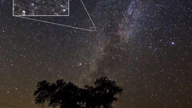 Iberus Medioambiente fotografía la explosión de la estrella Nova Delphini 2013