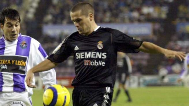 Una imagen de archivo de Michael Owen, cuando jugaba en el Real Madrid.