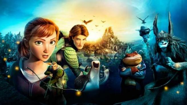 Una imagen promocional de 'Epic: El mundo secreto'.