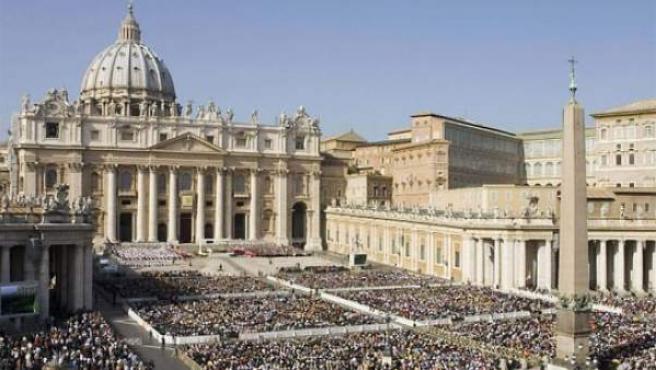 Imagen de archivo que muestra la Plaza de San Pedro en el Vaticano.