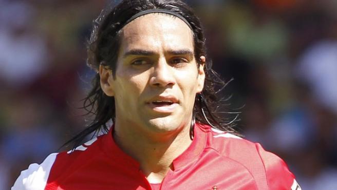 El delantero colombiano del Mónaco, Radamel Falcao.