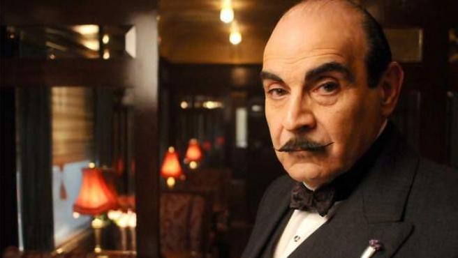 Poirot en la adaptación televisiva de la obra de la autora británica.