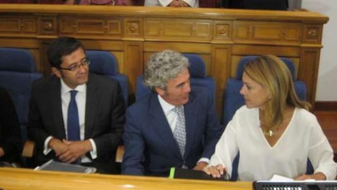 Cospedal, Romaní y Esteban debate