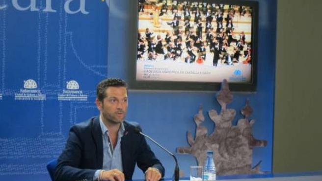 López durante la presentación