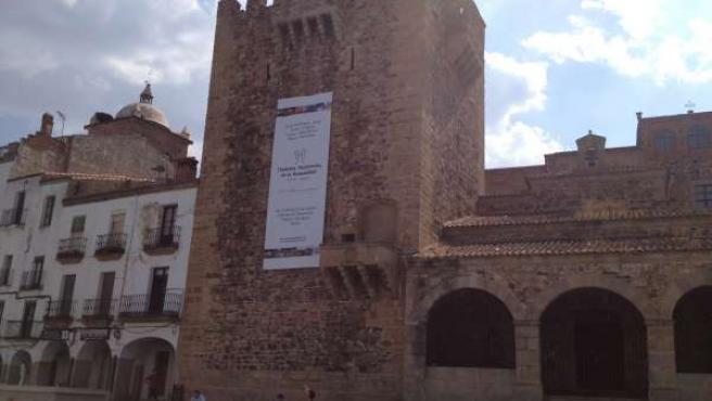 Torre De Bujaco 20 Aniversario Del Grupo Ciudades Patrimonio De La Humanidad