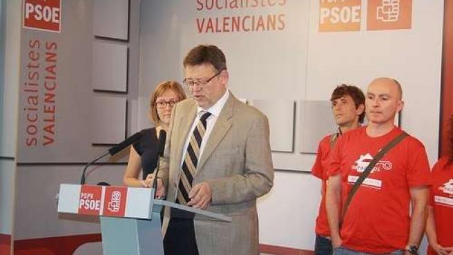 PSPV FIRMA UN CONVENIO CON AFECTADOS POR LA ELIMINACIÓN DE AYUDAS A LA HIPOTECA