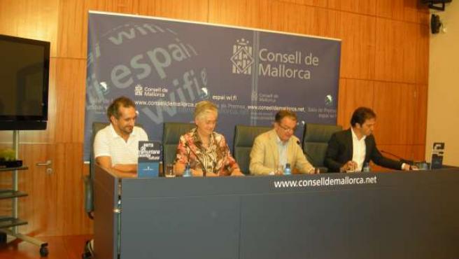 Joan Rotger presenta la programación del Teatro Principal de Palma