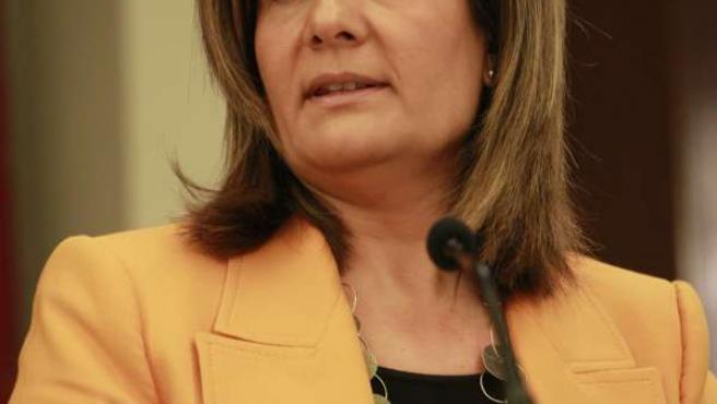 Fátima Bañez, en imagen de archivo.