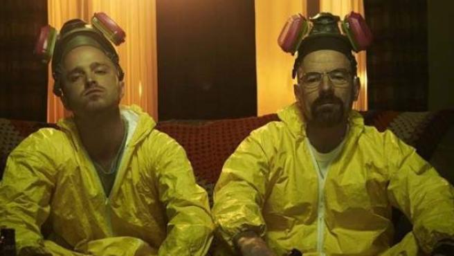 Jesse Pinkman y Walter White.