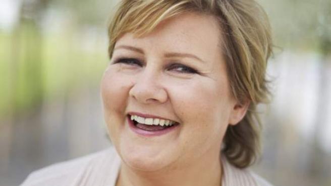 Imagen de archivo de la política conservadora noruega, Erna Solberg.