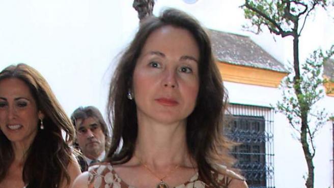 La jueza Mercedes Alaya por las calles de Sevilla.
