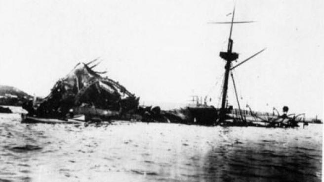 Hundimiento del USS Maine.