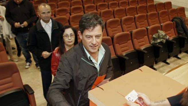 José Ramón Gómez Besteiro, presidente de la Diputación de Lugo y nuevo líder del PSdeG.