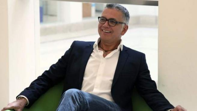 El presentador de televisión, Juan Ramón Lucas.
