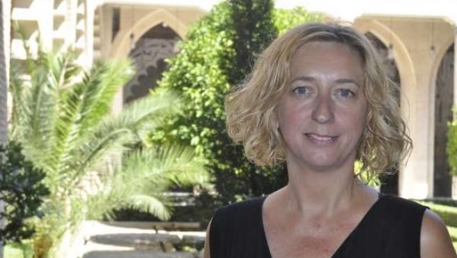 La portavoz de IU-Aragón, Patricia Luquin.