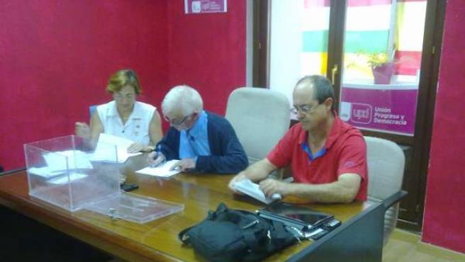 Elección delegados UPyD