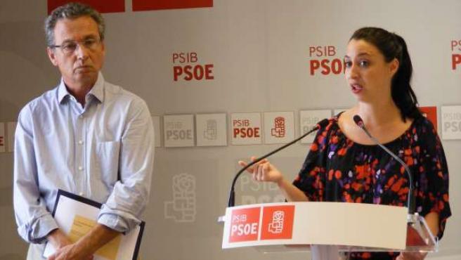 Jaume Garau y Sílvia Cano