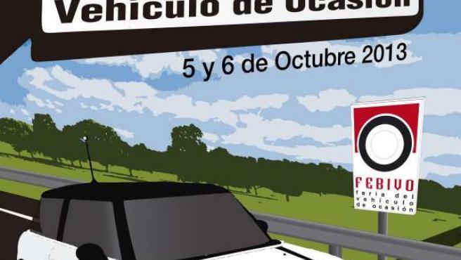 Cartel anunciador de la feria FEBIVO 2013 de Binéfar (Huesca)