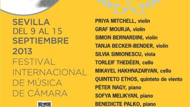 El Festival Joaquín Turina comienza este lunes en Sevilla