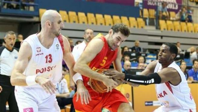 Rudy Fernández selección española España Polonia Eurobasket