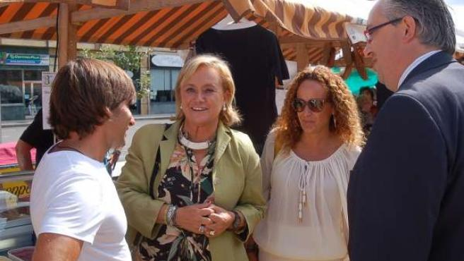 Mercedes Fernández en Villaviciosa.