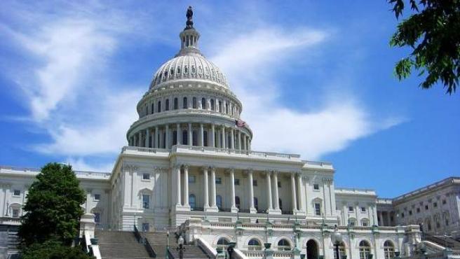 La sede del Senado de los EE UU, en el edificio del Capitolio, en Washington, D.C.