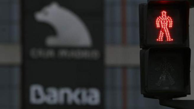 Una imagen del logotipo de Bankia.