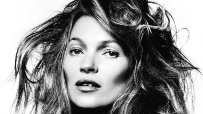 Foto inédita de Kate Moss que se expondrá en la antología de David Bailey