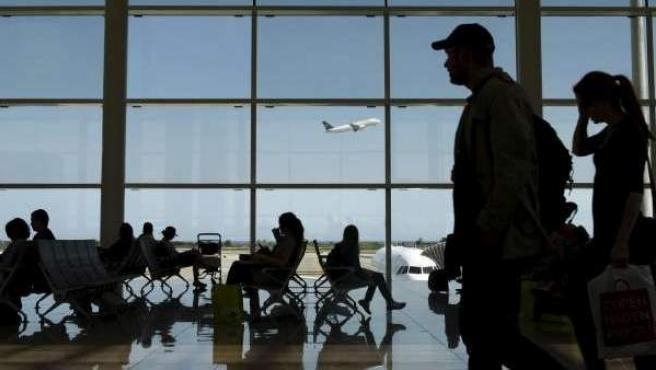 Imagen del aeropuerto del Prat.