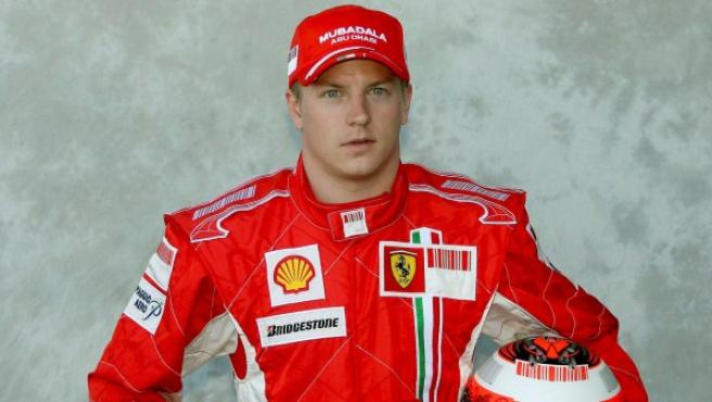 Raikkonen, nuevo piloto de Ferrari.