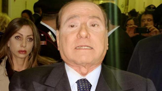 Una imagen del ex primer ministro italiano Silvio Berlusconi.
