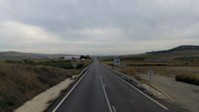 Imagen de archivo de una carretera.