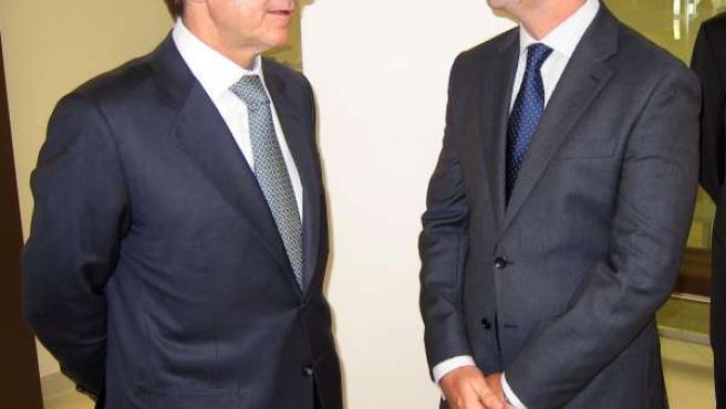 José Ignacio Goirigolzarri (izquierda), en Alicante