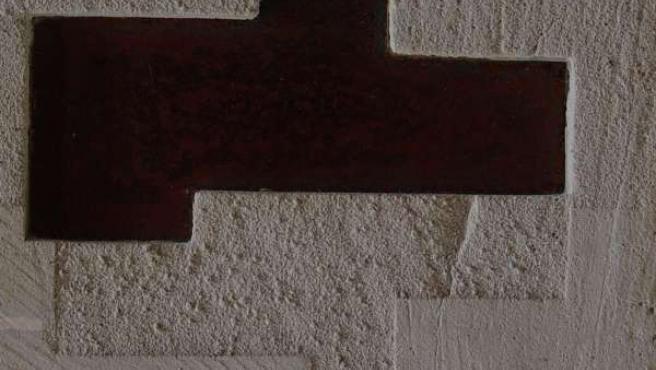 Una de las obras de la muestra de Juanjo Gracia