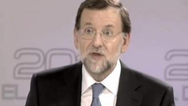 Captura del vídeo '#PPensiones, promesas incumplidas del PP' con el que el PSOE quiere denunciar los recortes en las pensiones.