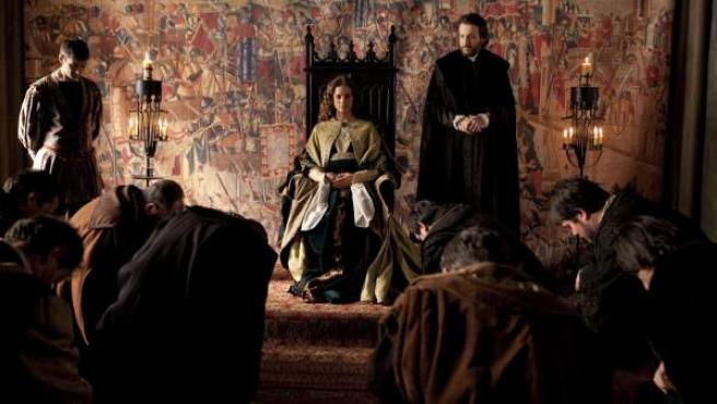 Escena de la segunda temporada de 'Isabel'.