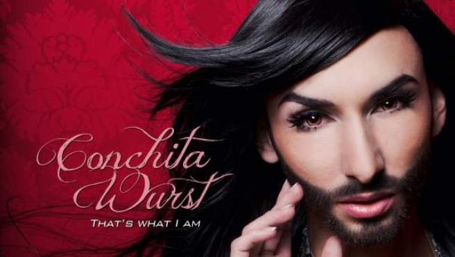 Portada del single del artista austríaco Conchita Wurst, que representará a su país en Eurovisión.