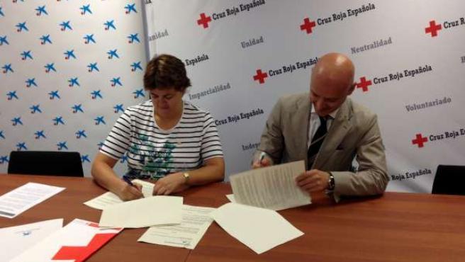 Acuerdo Cruz Roja Valladolid y La Caixa