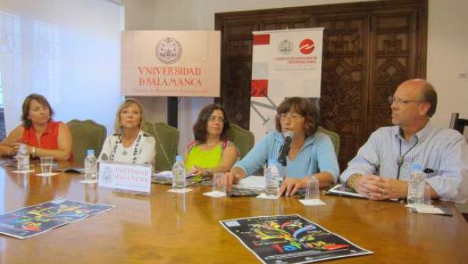Presentación del programa de actividades de 'Salamanca Latina'