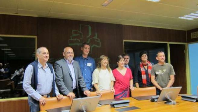 Reunión PNV-PSE-EH Bildu