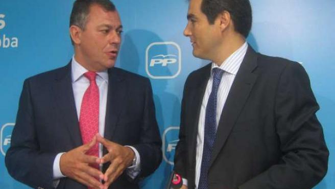 José Luis Sanz y José Antonio Nieto, en rueda de prensa