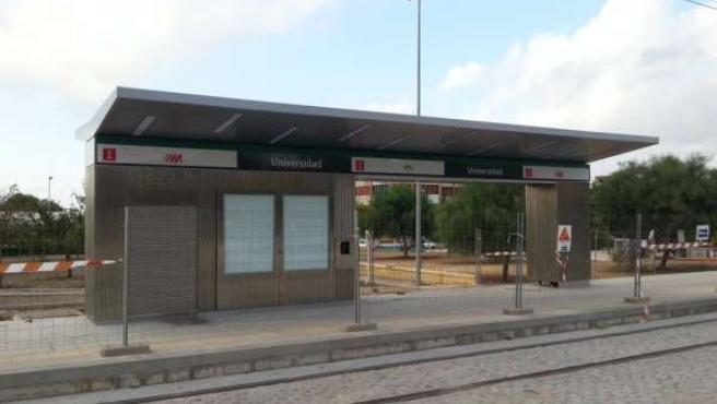 Marquesinas línea 1 del metro
