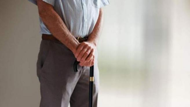 Imagen de archivo de un pensionista.