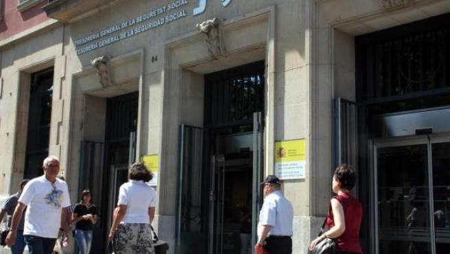 Las oficinas centrales de la Seguridad Social en la Rambla Nova de Tarragona.